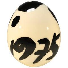 Mogens Andersen, Royal Copenhagen Porcelain Signed First Series Annual Egg 1975