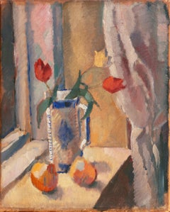 'Tulips on a Window Sill', Paris, Royal Danish Academy, Charlottenborg Gallery