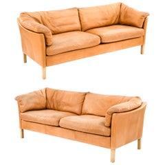 Mogens Hansen Danish Midcentury Sofa Suite