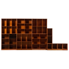 Mogens Koch Bookcases in Oregon Pine Produced by Rud Rasmussen in Denmark