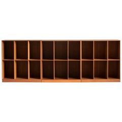 Mogens Koch Bookcases in Teak for Rud. Rasmussen