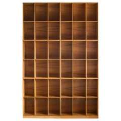 Mogens Koch Bookcases of Elm for Rud. Rasmussen