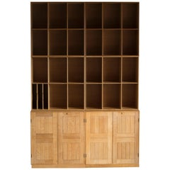 Mogens Koch Cabinets and Bookcases in Oak for Rud. Rasmussen