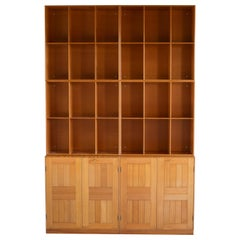 Mogens Koch Cabinets and Bookcases in Oregon Pine for Rud. Rasmussen