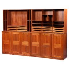 Mogens Koch Mahogany Cabinet / Wallsystem Designed 1928 from Rud. Rasmussen