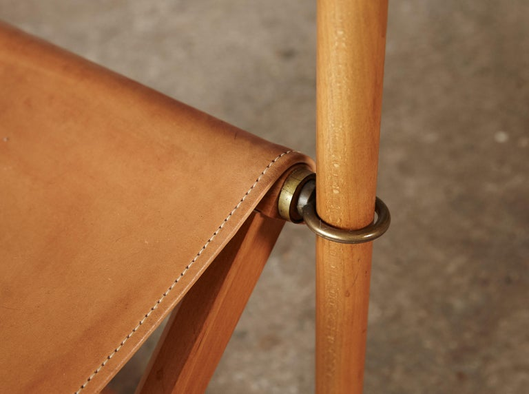Mogens Koch MK-16 Directors / Safari Chairs, Rud Rasmussen, Denmark, 1960s For Sale 6