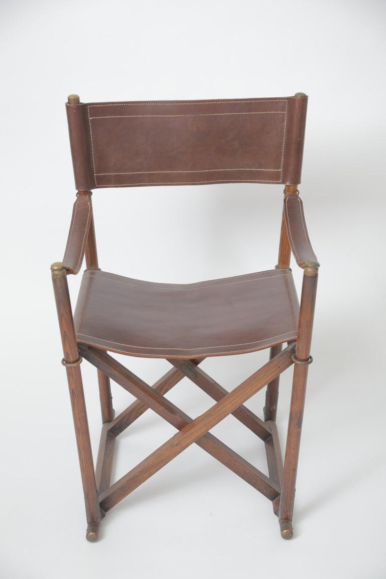 Danish Mogens Koch MK-16 Folding Chair For Sale