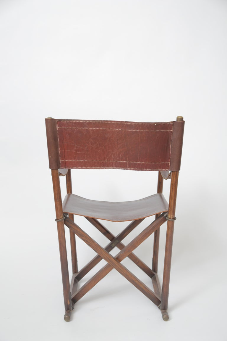 Mogens Koch MK-16 Folding Chair In Good Condition For Sale In West Palm Beach, FL