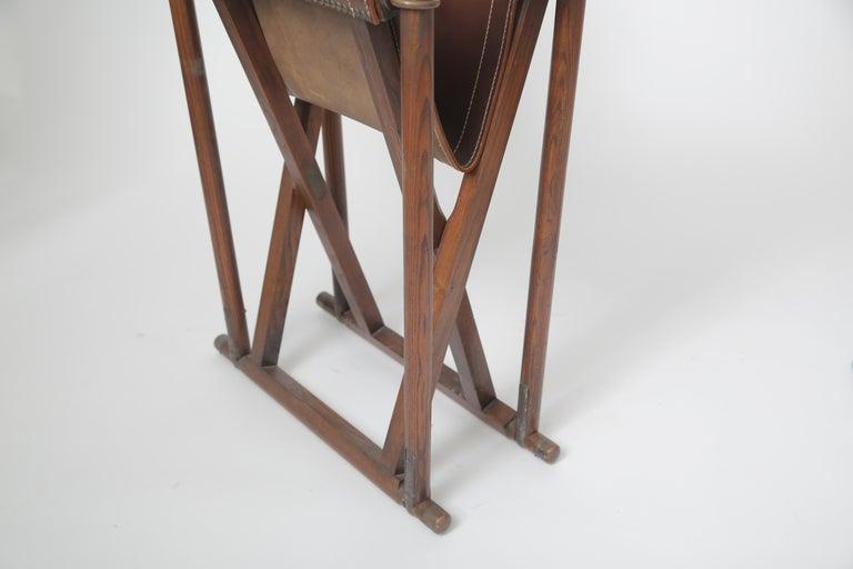 Mid-20th Century Mogens Koch MK-16 Folding Chair For Sale