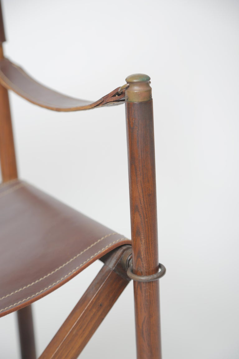 Mogens Koch MK-16 Folding Chair For Sale 2