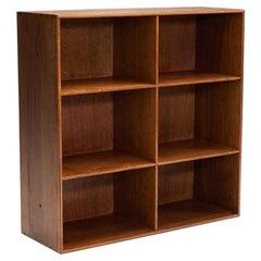 Mogens Koch Oak Bookcase for Rud, Rasmussen Cabinetmakers, Denmark, 1930s