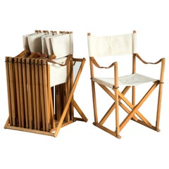 Mogens Koch Set of Six Folding Chairs