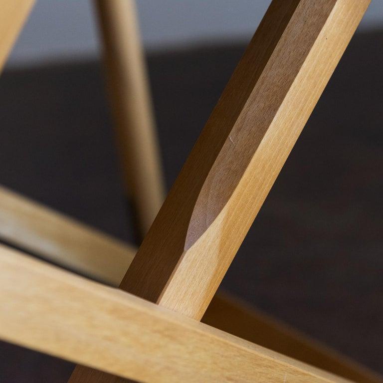 Mogens Koch Set of Six MK16 Folding Chairs for Rud Rasmussen, Denmark, 1950s For Sale 2