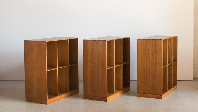 Scandinavian Modern Mogens Koch Set of Three Bookcases for Rud. Rasmussen For Sale