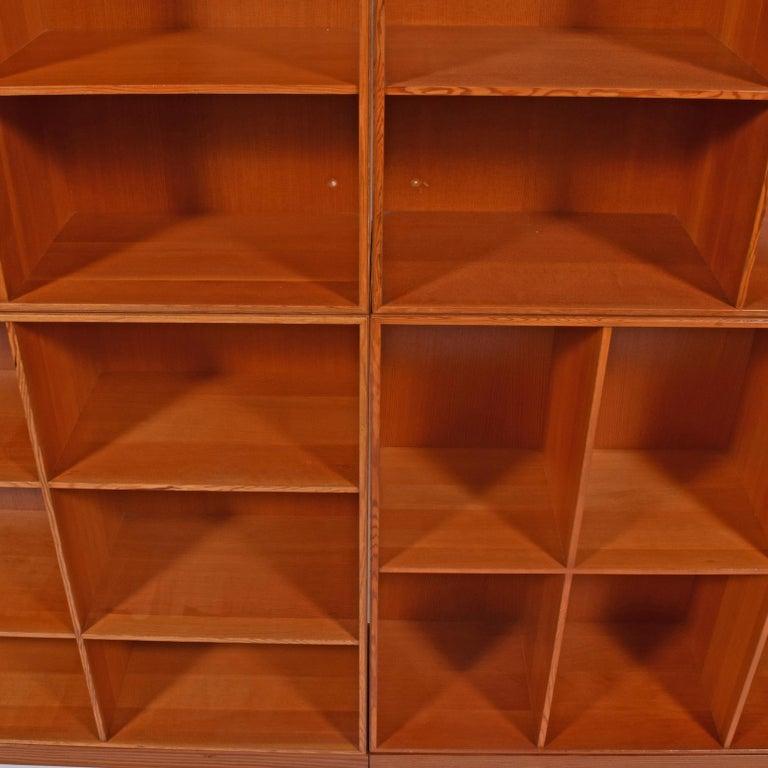 Danish Mogens Koch Six Open Bookcases for Rud Rasmussen For Sale