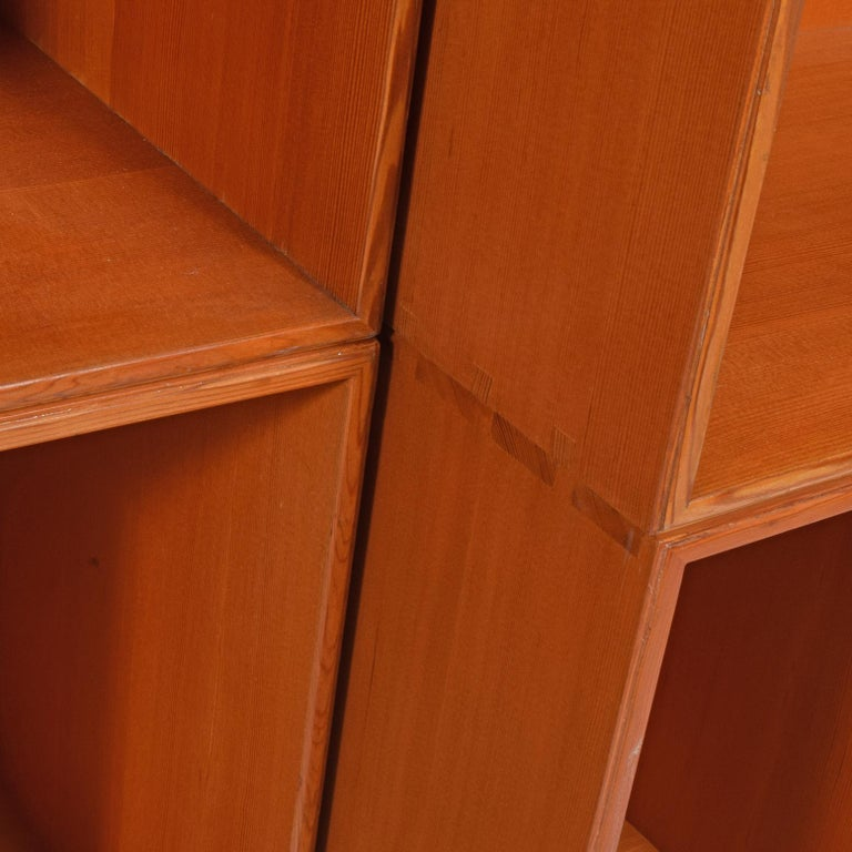 Early 20th Century Mogens Koch Six Open Bookcases for Rud Rasmussen For Sale