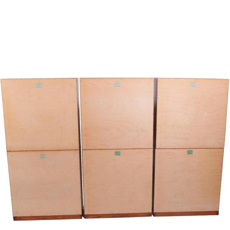 Mogens Koch Six Open Bookcases for Rud Rasmussen For Sale 1
