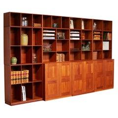 Mogens Koch Teakwood Bookcase System