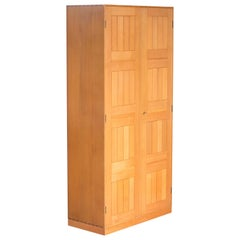 Mogens Koch Wardrobe of Oregon Pine for Rud. Rasmussen