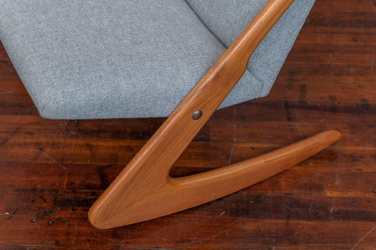 Mid-20th Century Mogens Kold Rocking Chair For Sale