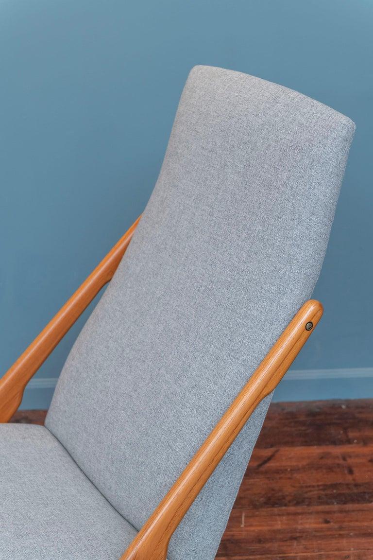 Teak Mogens Kold Rocking Chair For Sale