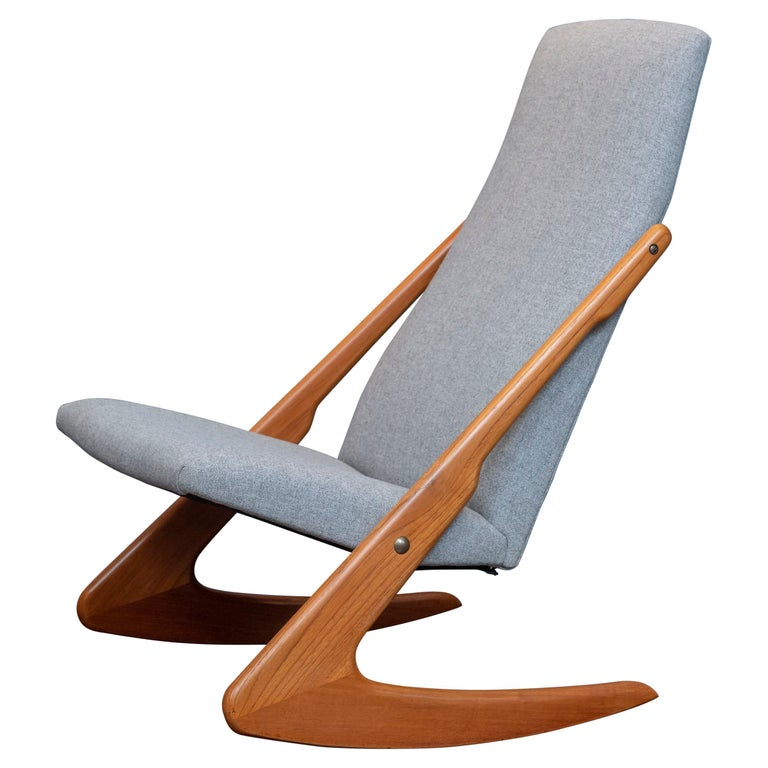 Mogens Kold Rocking Chair For Sale
