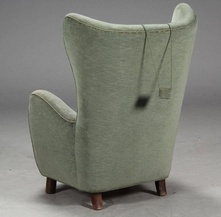 Mogens Lassen Style Armchair In Good Condition For Sale In Hudson, NY