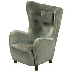 Mogens Lassen Style Armchair