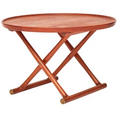 "Mogens Lassen Teakwood ""Egyptian Table"", circa 1954"