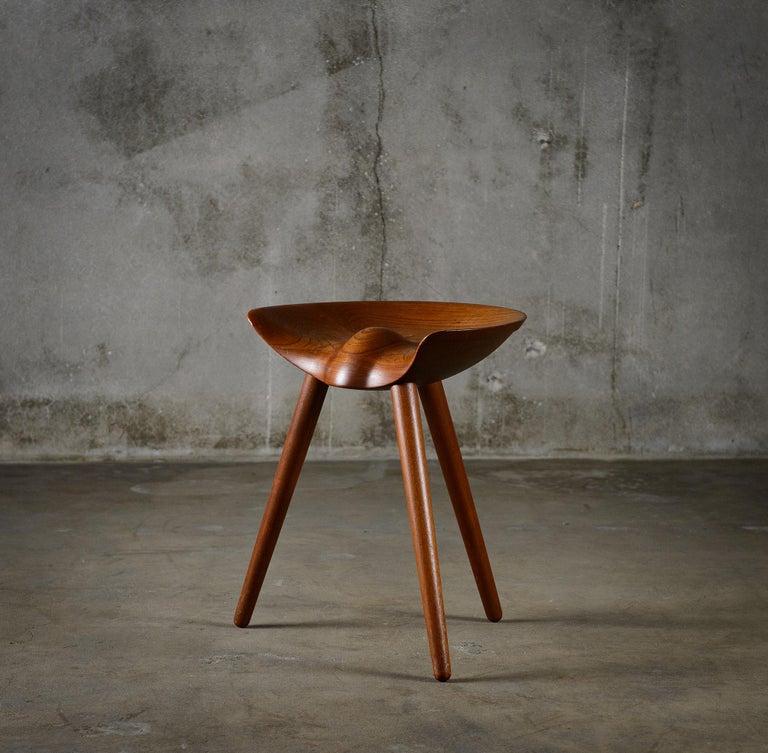 Danish Mogens Lassens Stool For Sale