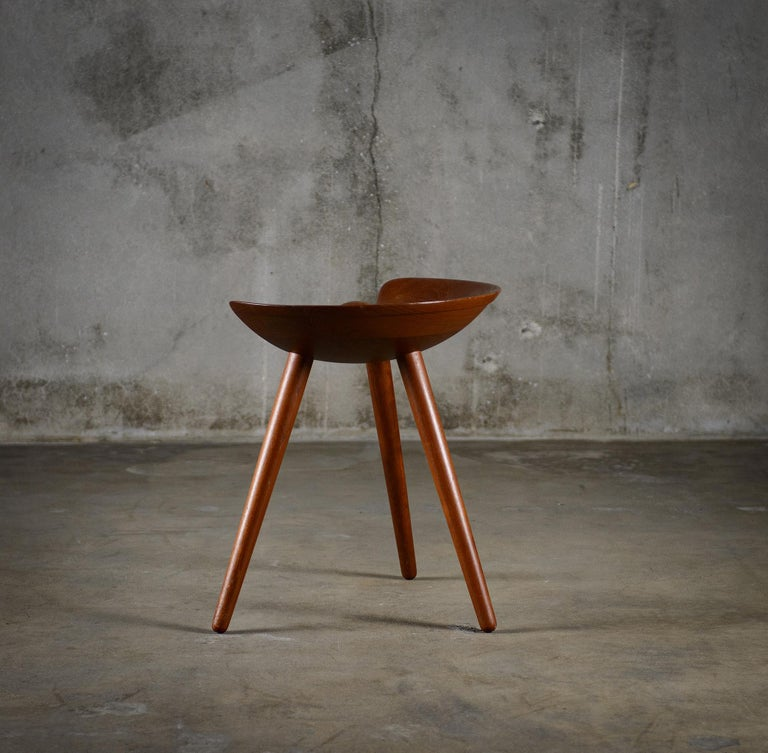 Mogens Lassens Stool In Good Condition For Sale In Los Angeles, CA