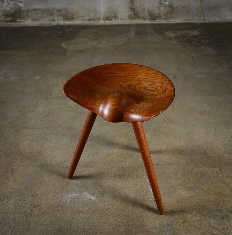 20th Century Mogens Lassens Stool For Sale