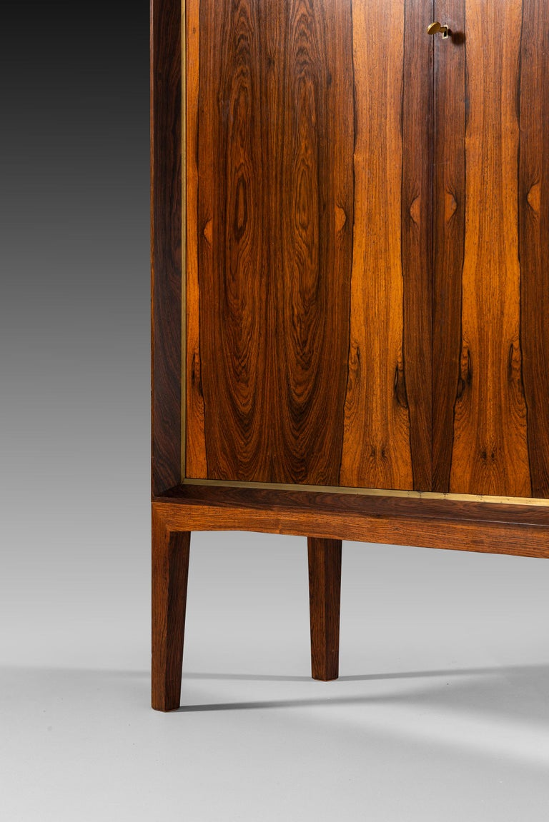 Mogens Lysell Cabinet Produced by Cabinetmaker Mogens Lysell in Denmark For Sale 4
