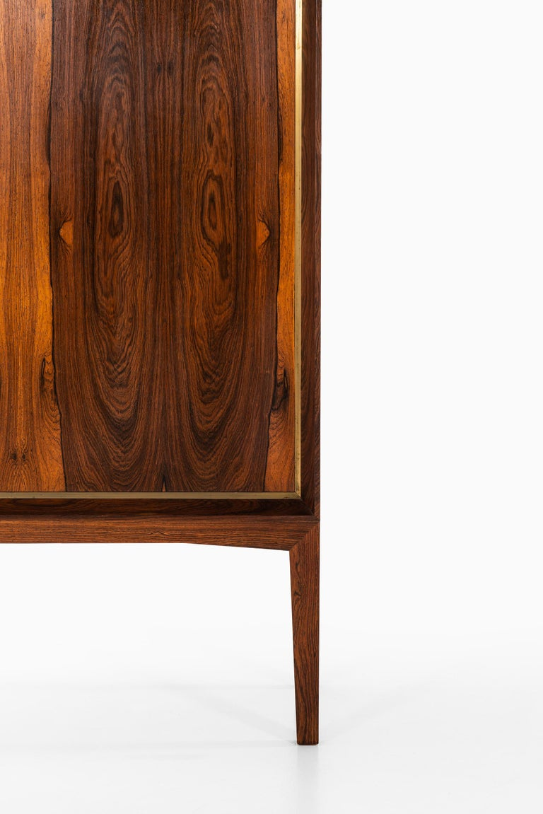 Very rare cabinet designed by Mogens Lysell. Produced by cabinetmaker Mogens Lysell in Denmark.