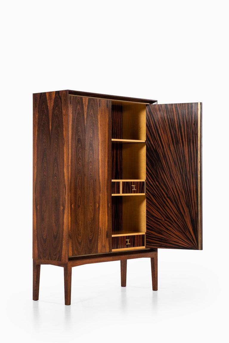 Mogens Lysell Cabinet Produced by Cabinetmaker Mogens Lysell in Denmark For Sale 1