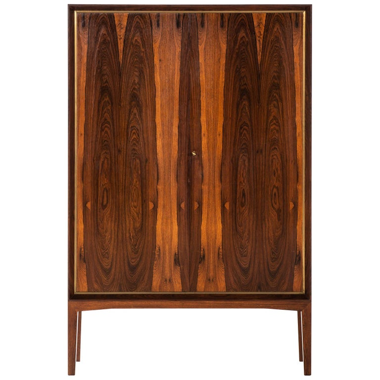 Mogens Lysell Cabinet Produced by Cabinetmaker Mogens Lysell in Denmark For Sale