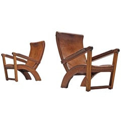 Mogens Voltelen 'Copenhagen' Lounge Chair in Leather
