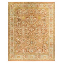 """Mogul, One-of-a-kind Hand-Knotted Area Rug  - Pink, 12' 3"""" x 15' 2"""""""