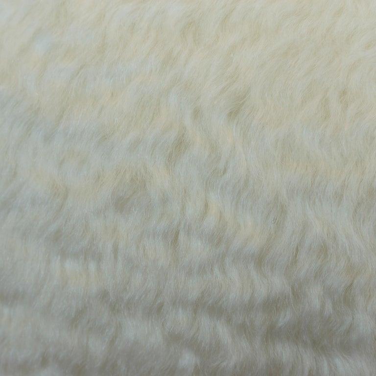 American Mohair Ball Pillow