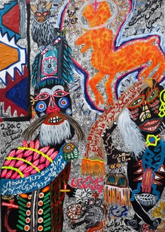 There is no barrier to love Mohammad Ariyaei 21st Century Iranian outsider art