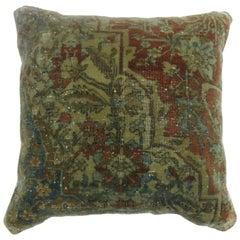 Mohtasham Kashan Medallion Rug Pillow