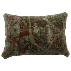 Mohtasham Kashan Persian Rug Bolster Pillow