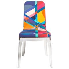 Moibibi Colorful Dining Chair, Designed by Marcel Wanders, Made in Italy