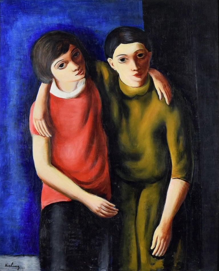 Moise Kisling Figurative Painting - Frère et Sœur