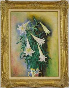 Lys by MOÏSE KISLING - School of Paris, flower painting, Post-Impressionism