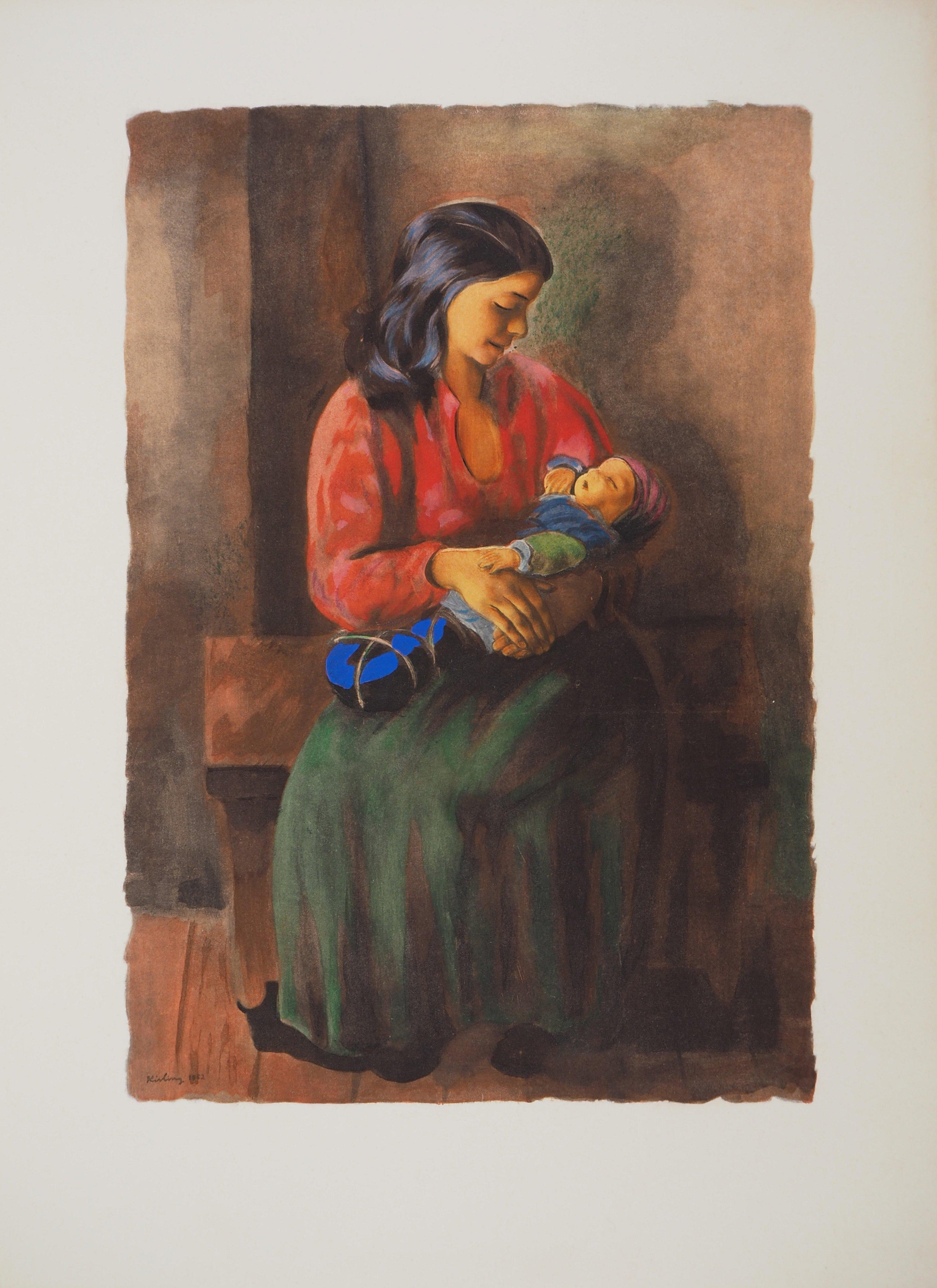 Maternity - Lithograph