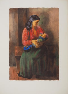 Maternity - Lithograph