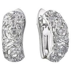 Moiseikin 18 Karat Gold Diamond Starry Night Earrings