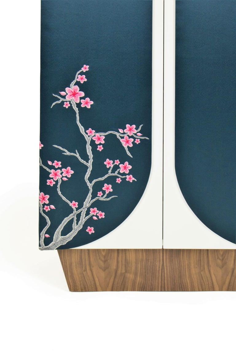 Steel Mokimono, Handmade Traditional Japanese Style Dressing and Storage Unit For Sale
