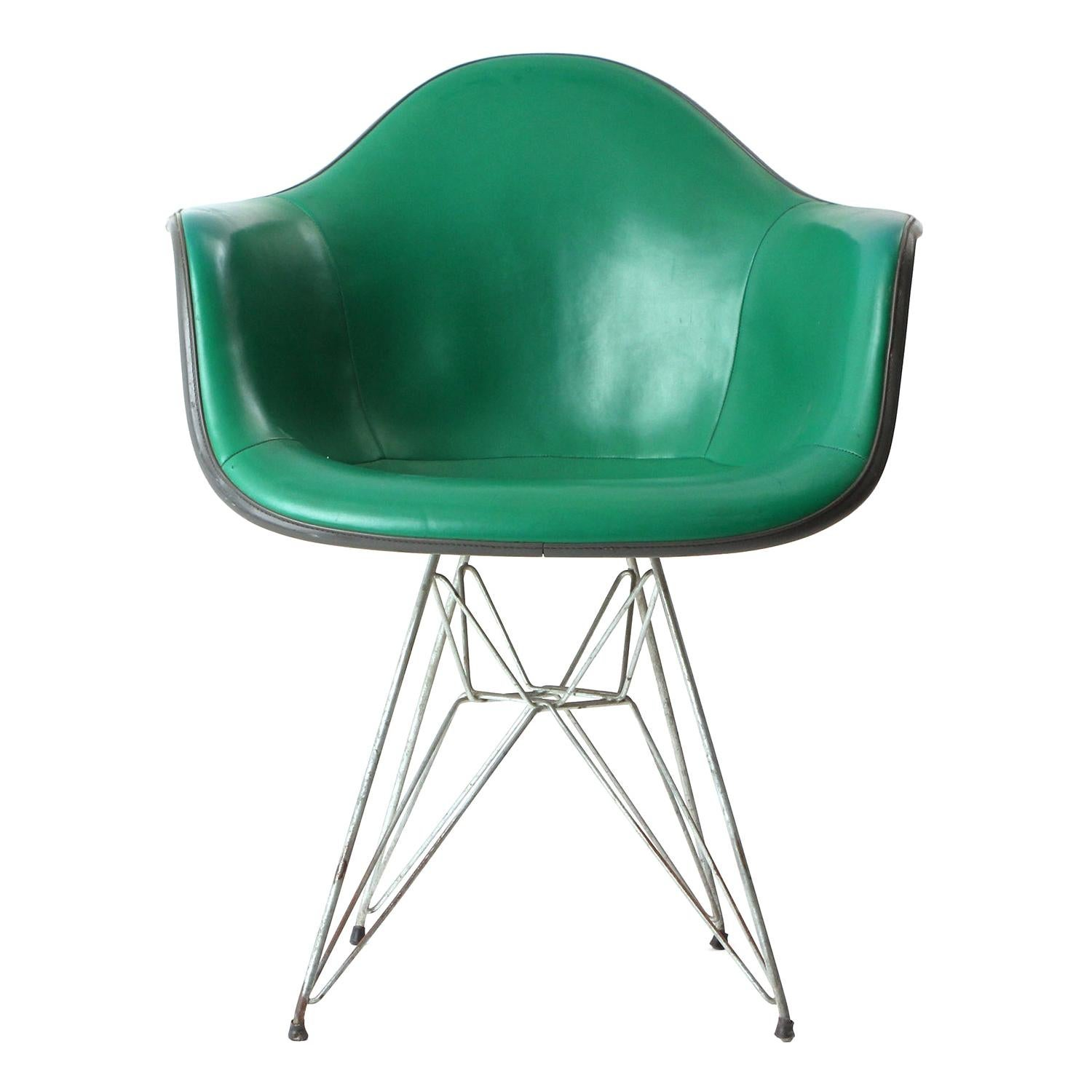 Molded Armchair By Charles U0026 Ray Eames For Herman Miller For Sale